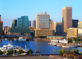 Baltimore maryland harbor