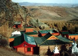 Монголия, безкрайна степ и планини от глетчери